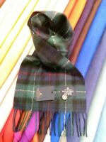 100% Pure Cashmere Scarf | The House of Balmoral | Mackenzie Tartan | Soft Scarf