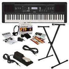 Yamaha Psr-Ew310 Portable Keyboard Home Essentials Bundle