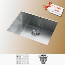 Zero Radius Kitchen Sink, UnderMount Kitchen Sink, Single Bowl Bar Sink, KUS2318