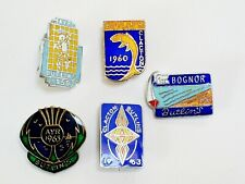 1964 Butlins Bognor Regis Enamel Badge J.R.Gaunt london