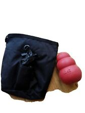 Dog Treat Pouch And Rubber Kong
