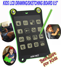 LATEST UPGRADED LCD DRAWING/SKETCHING BOARD 8.5'' TABLET E WRITING NOTEPAD, UK