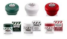 Proraso Triple Packs shaving Soaps X3 Pre- Shave X3  green/white/red 150ml Jars.