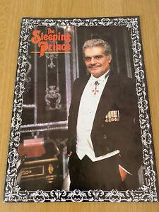Omar Sharif The Sleeping Prince Theatre Programme Theatre Royal 1983