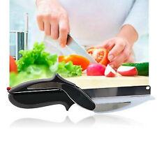 Cortador de inteligente 2 en 1 Cuchillo Cortar Corte En Cuadritos tablero de corte picador de Comida