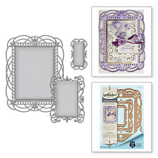 SPELLBINDERS Nestabilities Style NOUILLE DECORATIVE ELEMENT S6-097 3 Dies