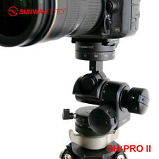 SunwayFoto GH-PRO II Gear Head Panoramic Tripod Head for DSLR Camera Panorama