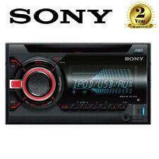 SONY Xplod WX800Ui Doble Din CD MP3 iPod iPhone Auto Estéreo Radio Reproductor Usb/Aux