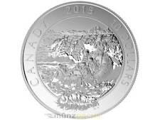 10 $ Dollar Adventure Canada Rafting en eau vive 2015 1/2 oz argent