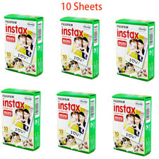 Fujifilm Instax Instant Mini White Film for Camera Fuji 8 25 50s 70 90 7s 10 PCS