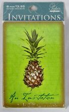 PAPER IMAGES 8-Pack Pineapple Themed All Occasion Party Invitations