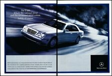 2001 Mercedes Benz E320 2-page Vintage Advertisement Print Art Car Ad J620