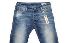 Diesel Poiak 0887 V Slim Tapered Jeans W31 L34 100% Authentique