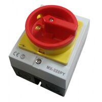 Hauptschalter 20A Reparaturschalter  MX-320PY Gehäuse Lasttrennschalter XBS