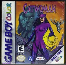 GBC Catwoman (1999), Brand New & Nintendo FACTORY SEALED