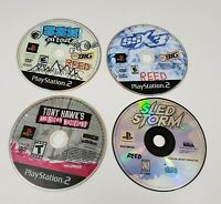 Sony Playstation 2 SSX On Tour SSX 3 Sled Storm Tony Hawk PS2 Video Game Lot