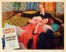 Monsieur Verdoux 12 comprimidos A3 cartel impresión