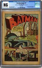 Detective Comics #37 CGC NG Coverless 1393435002