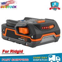 For Ridgid R840085 18V 3.0Ah Hyper Li-Ion Battery 18 Volt X4 R840087 R840083 X3