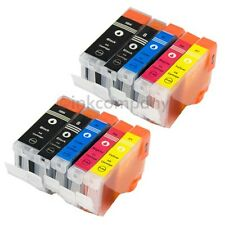 10x TINTE DRUCKER PATRONENSET MP800R MP810 MP830 MP520X MP530 MP600 MP600R MP610