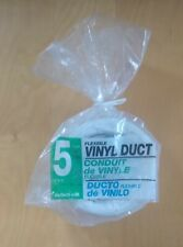 Deflect-O Flexible Vinyl Duct 5 Feet x 4 Inches / White / Ph45W / New in Package
