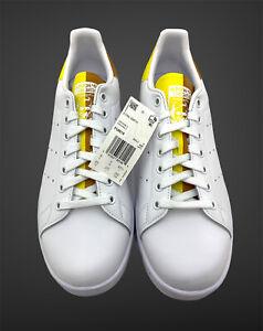 NEW RARE Adidas Stan Smith 'Snakeskin Legacy Gold Yellow' FU9618 Men's Size 9.5