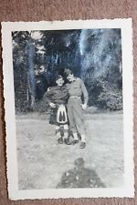 Original WW2 Photograph of a U.S. Army Soldier & Scottish/English Soldier