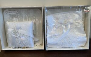 Wedding Set Money Bag and Ring Pillow | by Lillian Rose | MINT condition