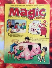 MAGIC COMIC. NO. 65. 23 APRIL 1977. FN+. CHILDRENS COMIC. PUZZLES NOT DONE