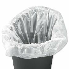White/Clear Square Office Bin Liners Bags (1,000 bags)