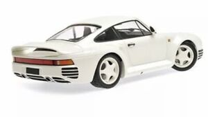 1.18 Minichamps Porsche 959 1987 ALL WHITE version NEW unopened A1