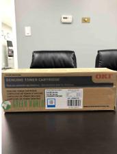 Genuine Okidata Standard Yield Cyan Toner Cartridge (43865719)