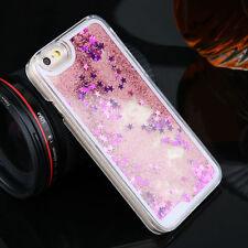 w) Glitter Star Liquid Back Phone Case Cover For Samsung Galaxy J5 2016 J510