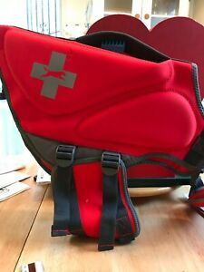 Dog Life Jacket - Red Neoprene