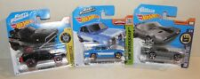 3 x Hot Wheels FAST & FURIOUS = Dodge Charger + Ice Charger + Ford Escort | NEU