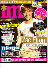 ZAC EFRON, CRAIG DAVID, LINKIN PARK,SIMPLE PLAN  Hungarian  magazine