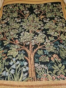 Garden OF Delight Cotton TAPESTRY  BEDSPREAD