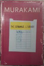 THE STRANGE LIBRARY~HARUKI MURAKAMI~SEALED FIRST EDITION/FIRST PRINTING  2014