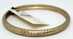 NEW EXPRESS ARROW VINTAGE HARDWARE BRACELET; GOLD