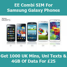 EE 4G Pay As You Go Nano SIM Card For Samsung Galaxy Note 8 - With Fast 4G Data