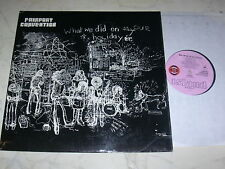 Fairport Convention what we did * 1st Press. UK Pink Island Eye *