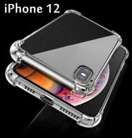 CLEAR Shockproof Case For iPhone 12, 12 Mini, 12 Pro Max Edge Silicone Cover