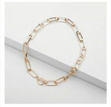 Gold Chunky Square Link Toggle Chain Necklace Other Bloggers Stories