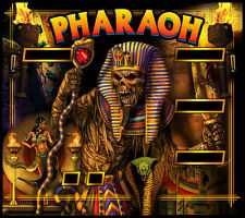Pharaoh Pinball Alternate Translite w/FREE playfield decal!!