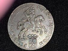 "Netherlands Silver ducaton ""Silver rider' William V  1771  Proclamation coin"