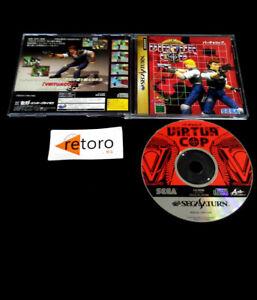 VIRTUA COP Sega Saturn SS JAP