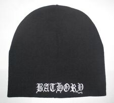 Bathory - Logo Beanie Hat Cap New