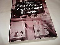 Critical Cases in Organisational Behaviour (Management, Work and Organisation.