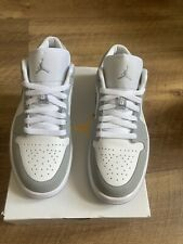Nike Air Jordan 1 Low Wolf Grey UK 5.5 Authentic Special Delivery🚚lot.