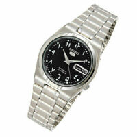 SEIKO 5 Automatic Black Dial Stainless Steel Men's Watch SNK063J5 JAPAN OFFICIAL